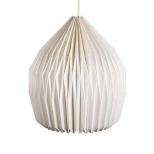 white-lampshade-design