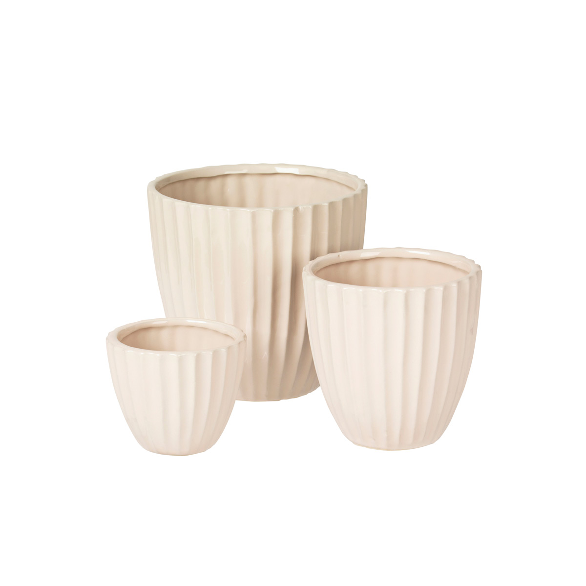 15500168 lined flower pot