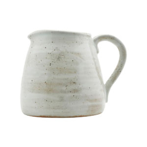 House Doctor-white-rustic-jug-fn0450
