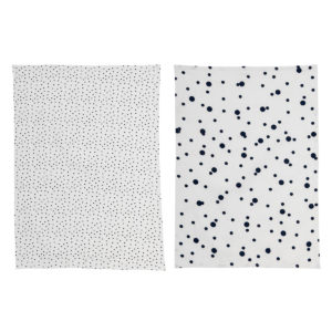 black-and-white-bloomingville-kitchen-towel