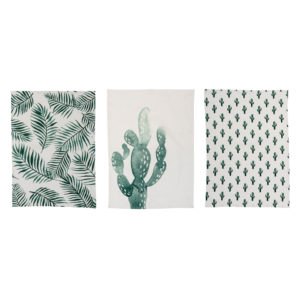 palm-print-kitchen-towels-bloomingville