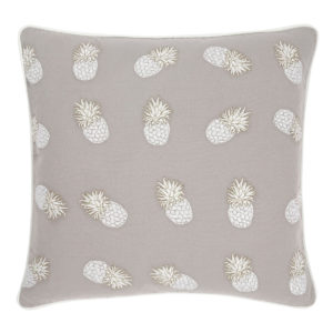 elizabeth-scarlett-grey-pineapple-print-cushion