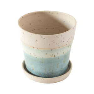 libby-ballard-speckled-plant-pot-with-base