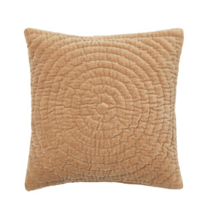 H_70300475 orange velvet cushion