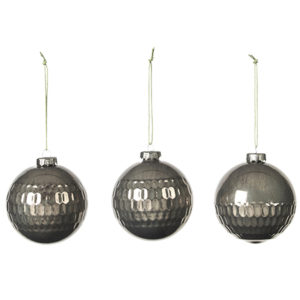 L_14581522 Glass Baubles Broste Copenhagen Christmas