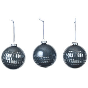 L_14581524 blue glass christmas baubles