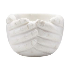 marble hand bowl house doctor