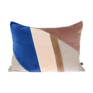 Velvet Patch Cushion HK Living