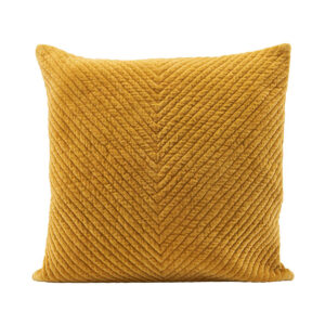 Yellow-Velvet-cushion-house-doctor